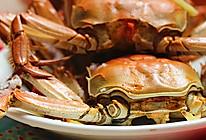 吮指的美味【干蒸螃蟹】的做法