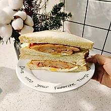 【懒人鸡肉三明治】