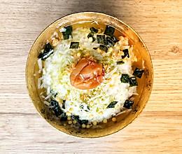日式茶泡饭的做法