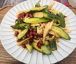 家常凉拌黄瓜腐竹的做法