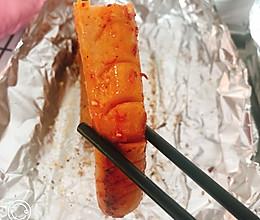 烤箱版香辣烤肠的做法