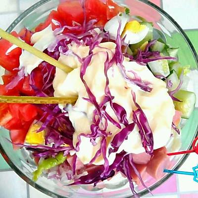 法式蔬菜沙拉