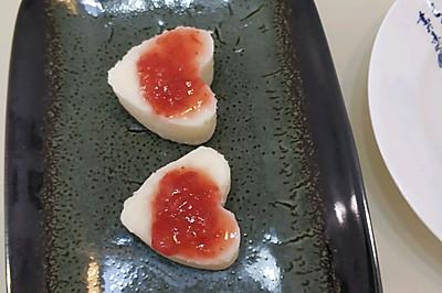茶点:草莓山药泥