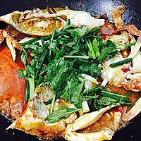 香辣酱炒螃蟹(超详细步骤)的做法图解15