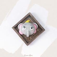 【卡通馒头&卡通包】小飞象造型详解