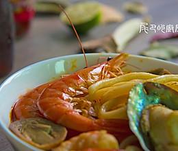 泰国冬阴功汤面的做法