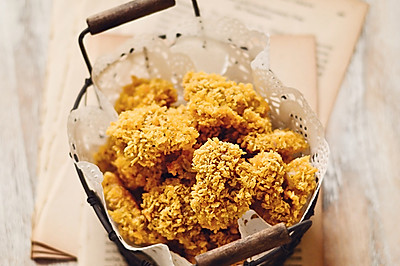 【烤箱版鸡米花】