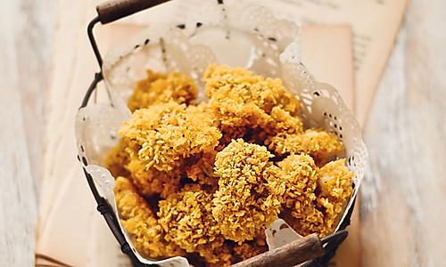 【烤箱版鸡米花】的做法
