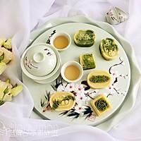 抹茶双色绿豆糕(面包机版)
