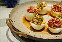 蒜泥鸡蛋  的做法