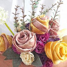 LOVE玫瑰花卷