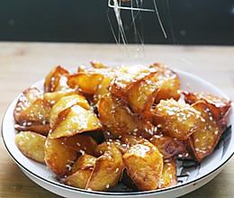 拔丝红薯这样做的做法