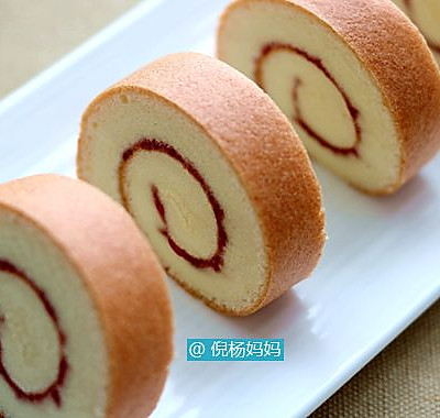 果酱蛋糕卷