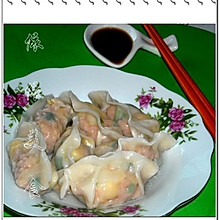 胡萝卜玉米肉末馅饺子