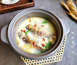 #母亲节,给妈妈做道菜#鲫鱼豆腐汤的做法