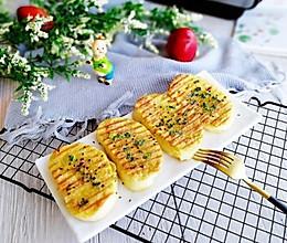 #精品菜谱挑战赛#葱香黄金馒头片的做法
