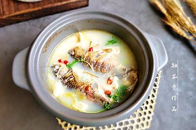 #母亲节,给妈妈做道菜#鲫鱼豆腐汤