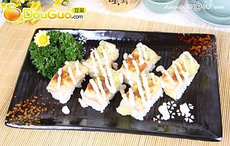芝士三文鱼寿司的做法