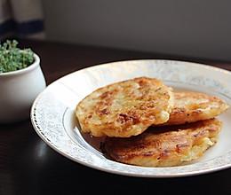 江白虾饼煎虾饼炸虾饼——微量元素优质蛋白质备孕/孕妇营养早餐的做法