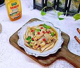 #太太乐鲜鸡汁蒸鸡原汤#比肉还好吃的鸡汁炒平菇的做法