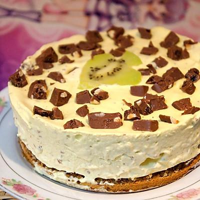 巧克力冰激凌蛋糕
