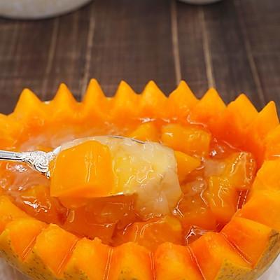 木瓜桂圆炖银耳~美容减脂羹