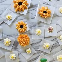 金风玉露#暖色秋季#马卡龙·奶油蛋糕看过来#的做法图解21