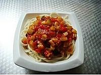 西红柿茄子拌面的做法图解13