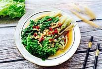 #春天肉菜这样吃#蚝油生菜的做法