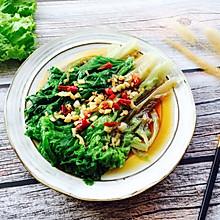 #春天肉菜这样吃#蚝油生菜