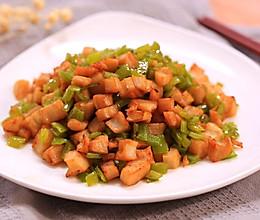青椒炒藕丁-迷迭香的做法