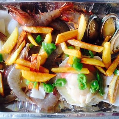 西班牙海鲜大拼盘—惊艳!的做法 步骤7