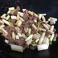 泡椒藕带炒牛肉的做法图解8