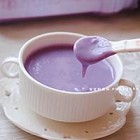 燕麦紫薯奶香米糊的做法图解13