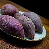紫薯汤圆酒酿羹的做法图解1
