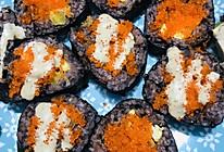 蟹红籽/鱼籽酱寿司的做法