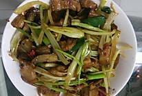 熏干炒五花肉的做法