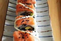 三文鱼鳗鱼卷的做法