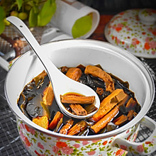 #美食视频挑战赛# 卤海带豆腐干