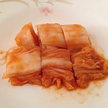 韩剧迷自制韩国泡菜