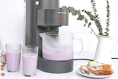 紫薯花生浆