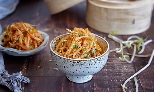 韩式拌豆芽的做法