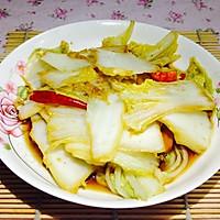 10分钟快手菜--湘式酸辣大白菜的做法图解7