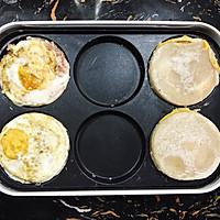 网红—鸡蛋汉堡的做法图解5