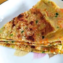 早餐鸡蛋饼,专治各种不吃蔬菜的宝宝