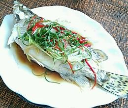 《蛋蛋妈的厨房》——【清蒸桂鱼】的做法