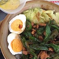青椒肉丝煲仔饭(一个人也要好好吃饭)的做法图解11