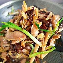 好好吃又不长肉的炒黄花菜木耳丝