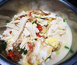 腐竹焖荷包蛋的做法