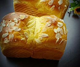 南瓜杏仁片土司——手撕包的做法